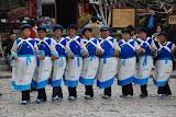 Lijiang - Danse locale des femmes Naxi