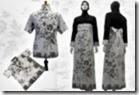 baju batik model dress