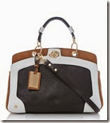 Dune Colourblock Detail Handbag