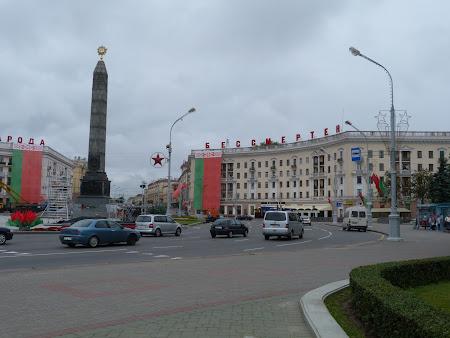 Imagini Belarus: monumentul victoriei