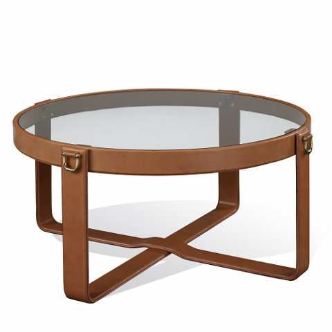 This table is has been designed with a horse's bridle in mind. (ralphlauren.com)