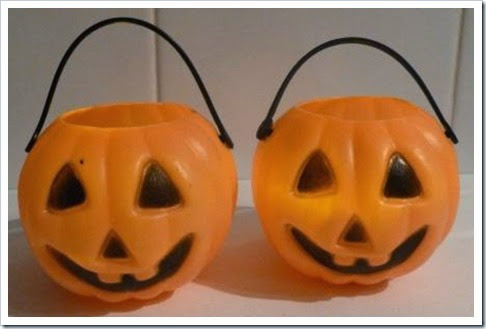 Mini Horror Pots Pumpkin faces