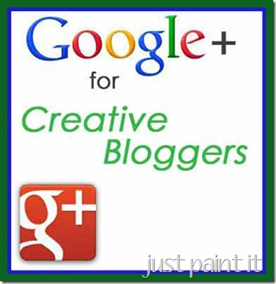 Google+ Series for Creative Bloggers