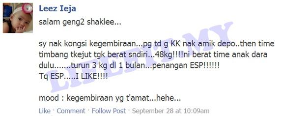 Khasiat ESP Shaklee 4