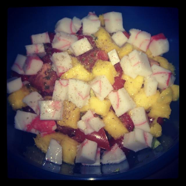 Recette: Salade Mangue & Avocat!