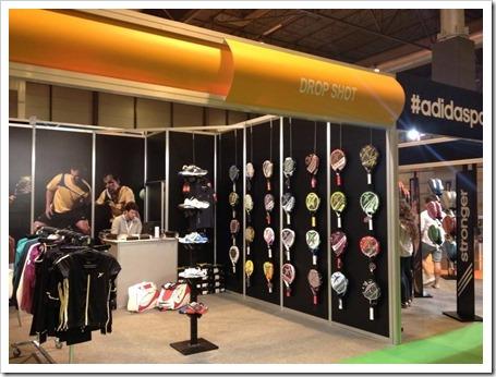 Drop Shot también ha tenido una gran presencia a lo largo de este fin de semana en Madrid, donde su presencia en la primera feria de la industria de pádel en España, Padel Pro Show