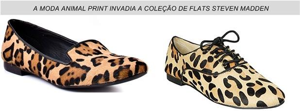 animal print em sapatos