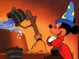 Mickey mouse in fantasia 492
