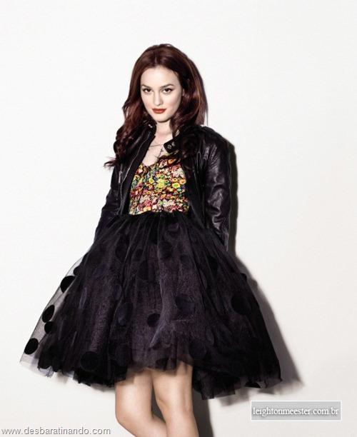 Leighton meester blair gossip girl garota do blog linda sensual desbaratinando  (211)