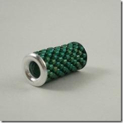 eyelet bead green