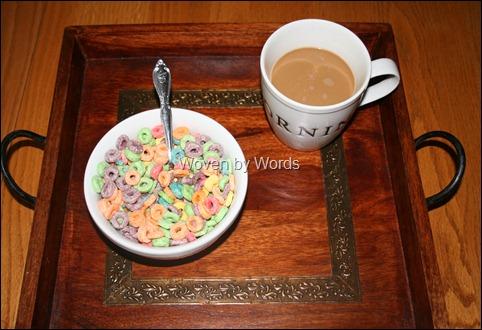 Breakfast again