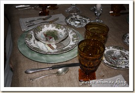 dinner table settings 002