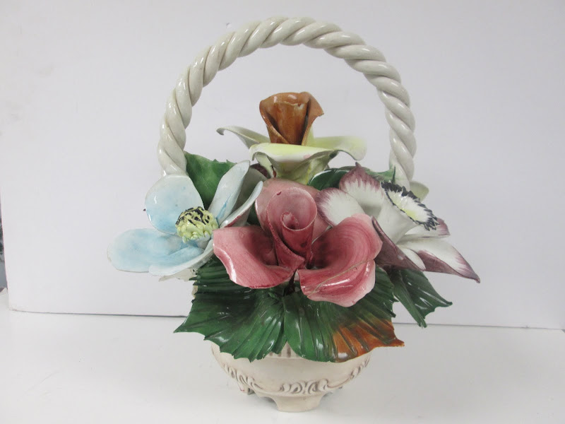 Capodimonte Floral Centerpiece