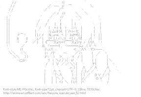 [AA]Nyaruko EyeGlasses (Haiyore! Nyaruko-san)