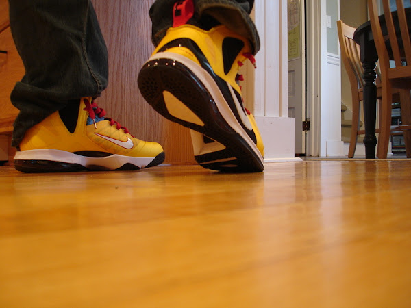 Inspired by 9 PS Elite Custom Nike LeBron 9 iD 8220Taxi8221 Build