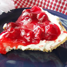 Easy Cherry or Blueberry Cream Pie (No-Bake)