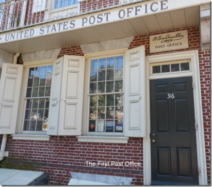 The First Post Office