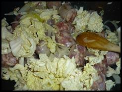 Padellata di verza e salsiccia (2)