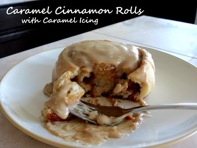 caramel cinnamon rolls 4 fast cheap easy