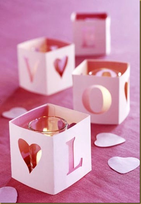v day candles