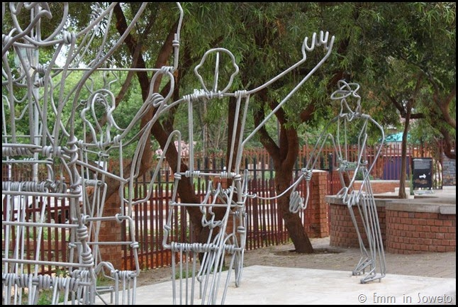 Installation art in Soweto