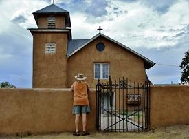 Truchas Church Chuck