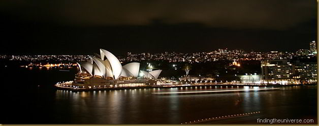 Sydney opera house at night - New South Wales - Ausralia