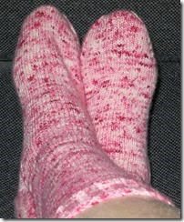 Peppermint Sock Complete