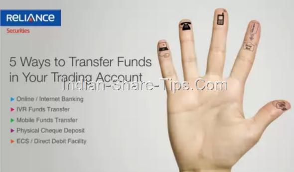 5 Ways to Transfer Funds to Your Trading Account with Reliance Securities