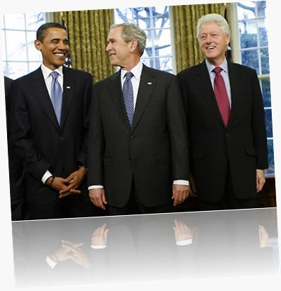 Obama-Bush-Clinton