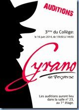 Cyrano de Bergerac, mai 2015