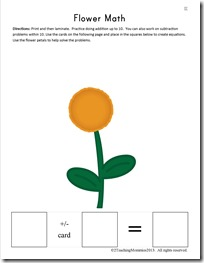 K Flower Math