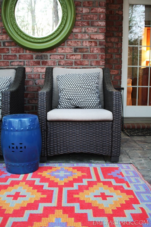 outdoor rug for our patio