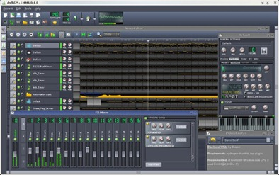 LMMS (Linux MultiMedia Studio) for Windows