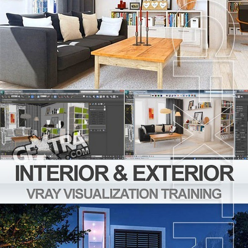 Creating Exterior & Interior 3dsMax & Vray Visualization