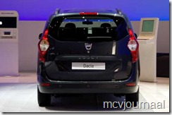 Dacia Lodgy Autosalon Geneve 2012 10
