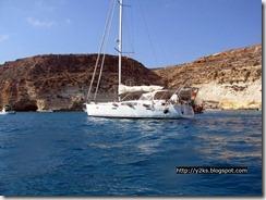 Y2K in rada alla Tabaccara - Lampedusa