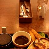 ビーフハンバーグステーキ&牡蠣グラタン @ココス