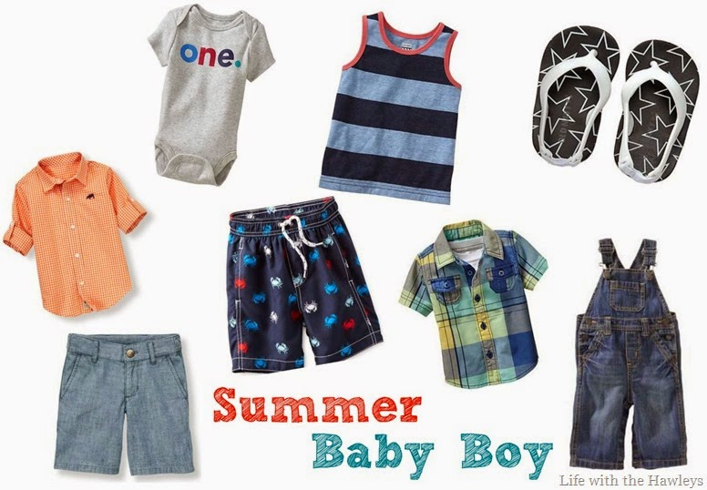 Summer baby boy