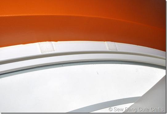 Velcro-on-window-frame