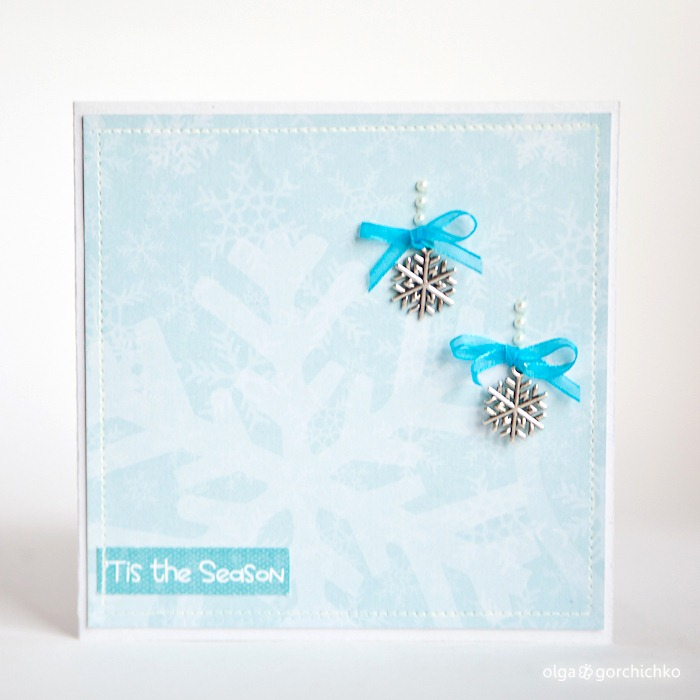 конверт для диска с зимней фотосессией
