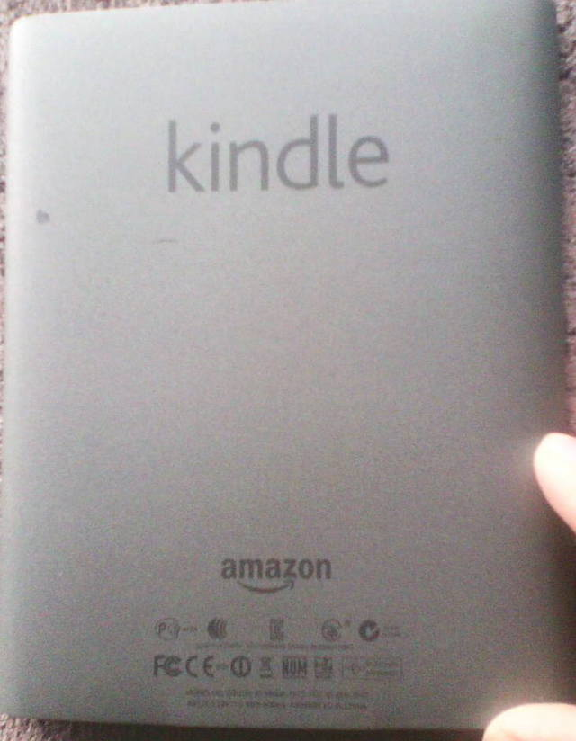 Tapa del kindle Touch