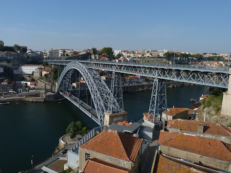 Things to do in Porto: walk the Luis bridge