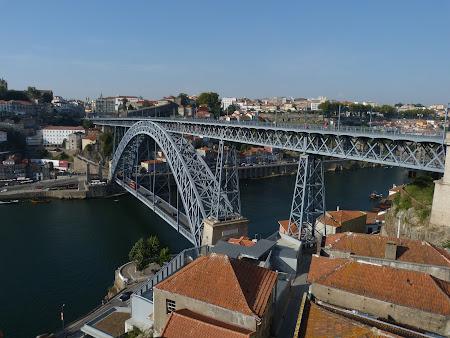 Obiective turistice Porto: Podul peste Douro