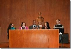 Mesa do seminário