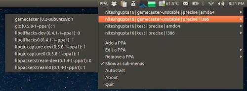 PPA Download Statistics su Ubuntu
