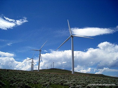 Wind Farm near La Grande