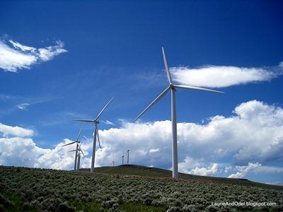 Wind Farm near La Grande