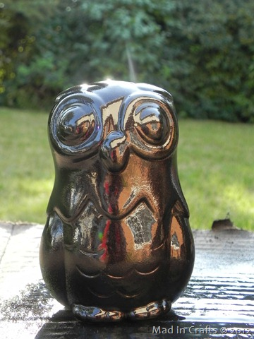 oil rubbed bronze owl