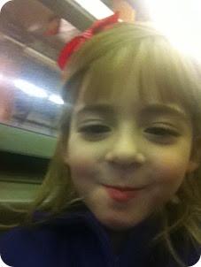 Selfies on the Train